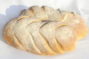 Sourdough bread from organic flour