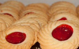 Strawberry-Jam-Biscuits