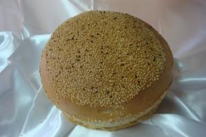 White-Sesame sourdough bread